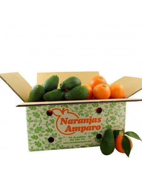 Caja mixta de Naranjas y Aguacates
