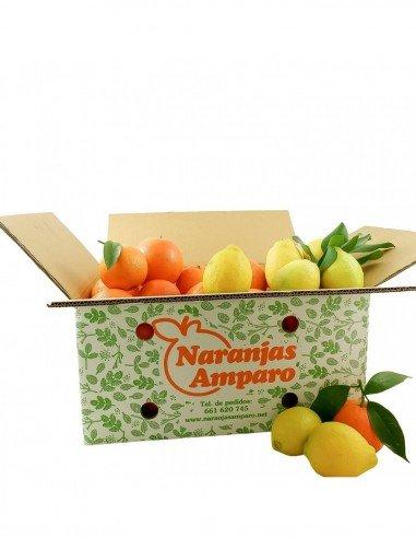 Oranges et citrons mélangés
