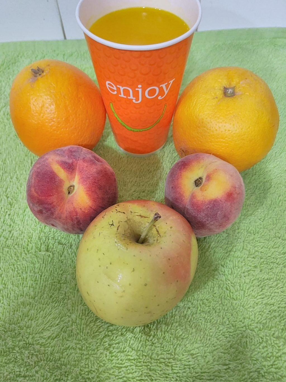 smoothie de naranja con thermomix
