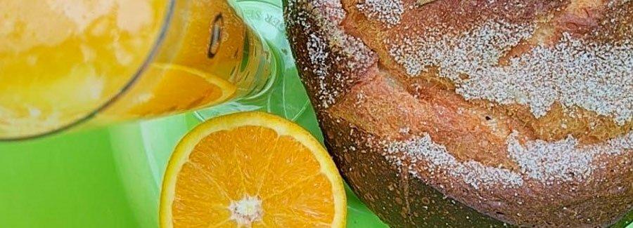 Receta mona de pascua con naranja