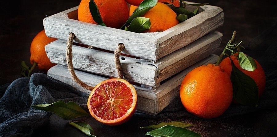conservar naranjas en cesto