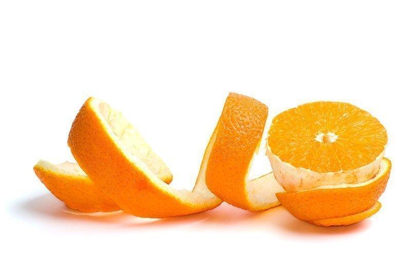 Naranja pelada